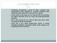 l'ultime photo bis