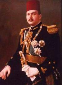 Portrait officiel du roi Farouk en 1946